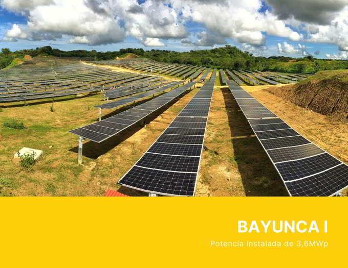Planta Solar BAYUNCA I