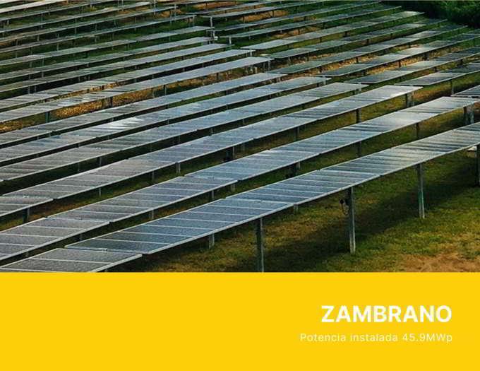 Planta Solar ZAMBRANO